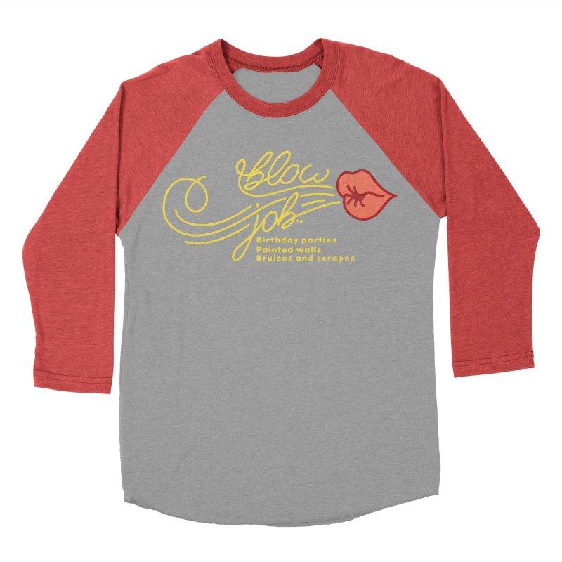 Blow Job Men's Baseball Triblend Longsleeve T-Shirt by Opippi