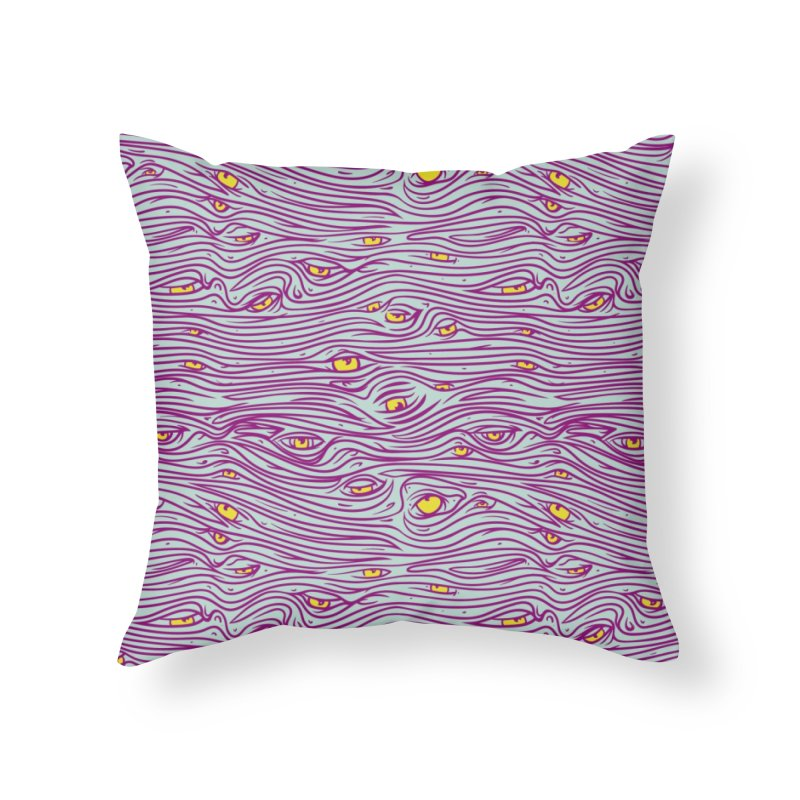 Got my eyes on you Home Throw Pillow by Opippi