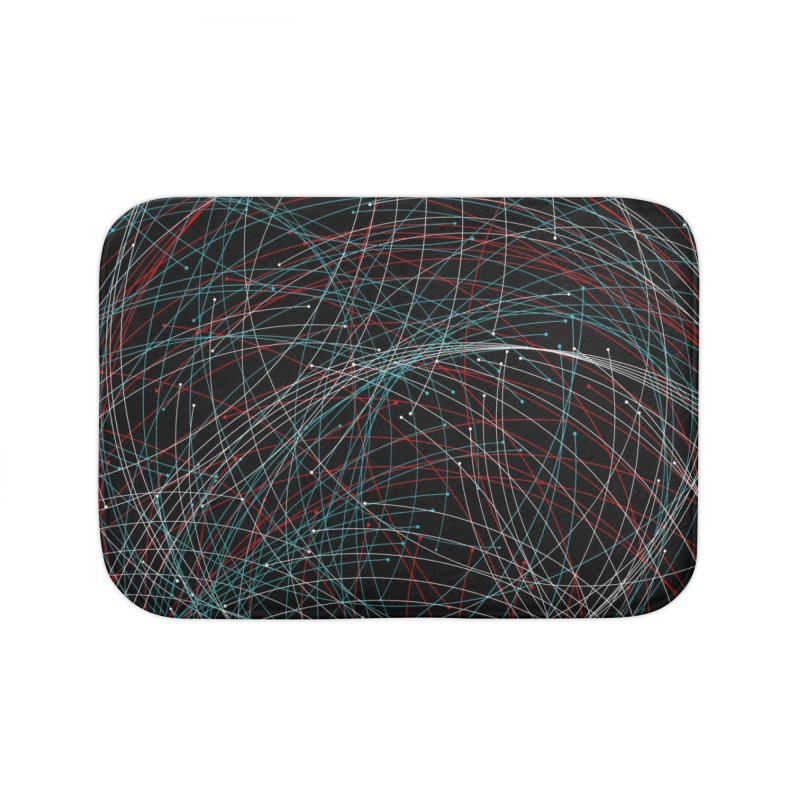 Circle Drops Home Bath Mat by Opippi