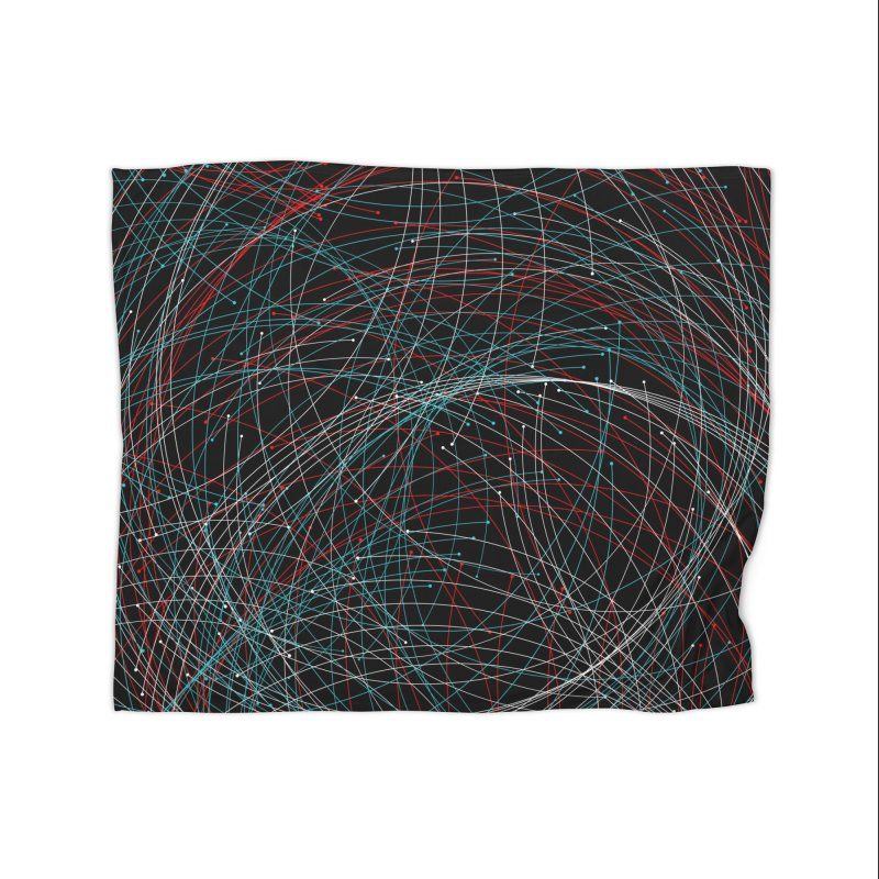 Circle Drops Home Blanket by Opippi