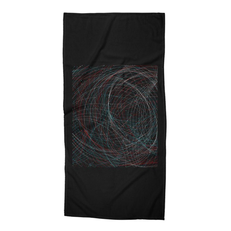 Circle Drops Accessories Beach Towel by Opippi