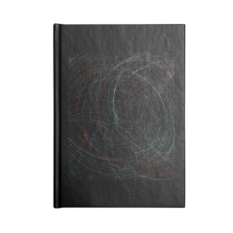 Circle Drops Accessories Blank Journal Notebook by Opippi