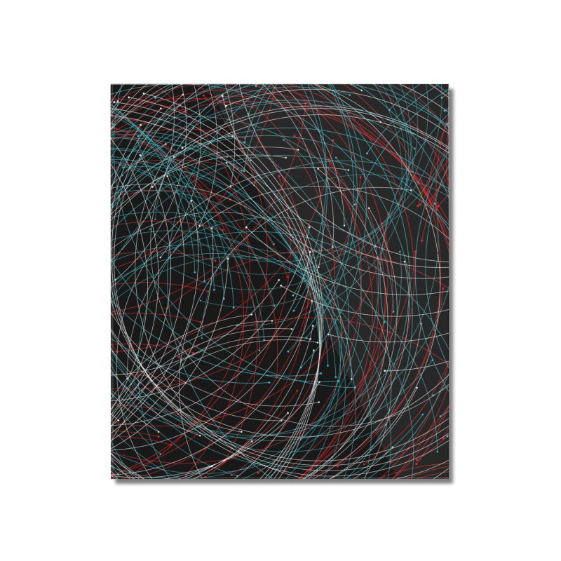Circle Drops Home Mounted Acrylic Print by Opippi