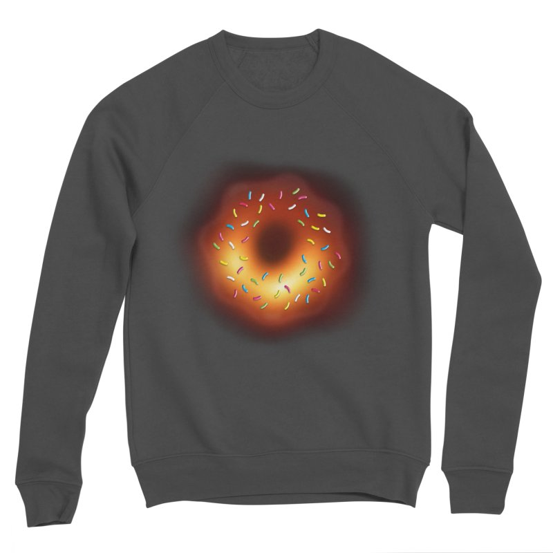 Black Hole Donut Women's Sponge Fleece Sweatshirt by Opippi