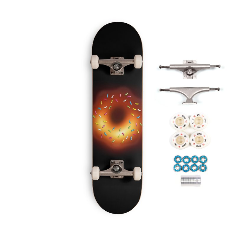 Black Hole Donut Accessories Complete - Premium Skateboard by Opippi