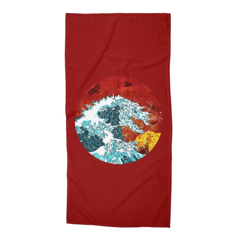 Wavezilla Accessories Beach Towel by Opippi
