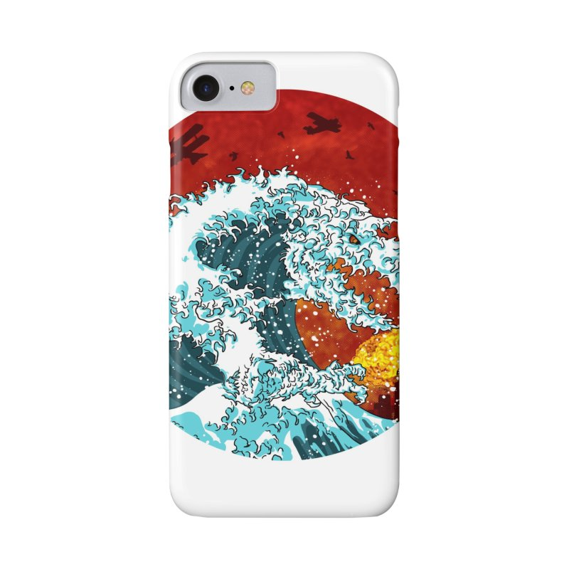 Wavezilla Accessories Phone Case by Opippi