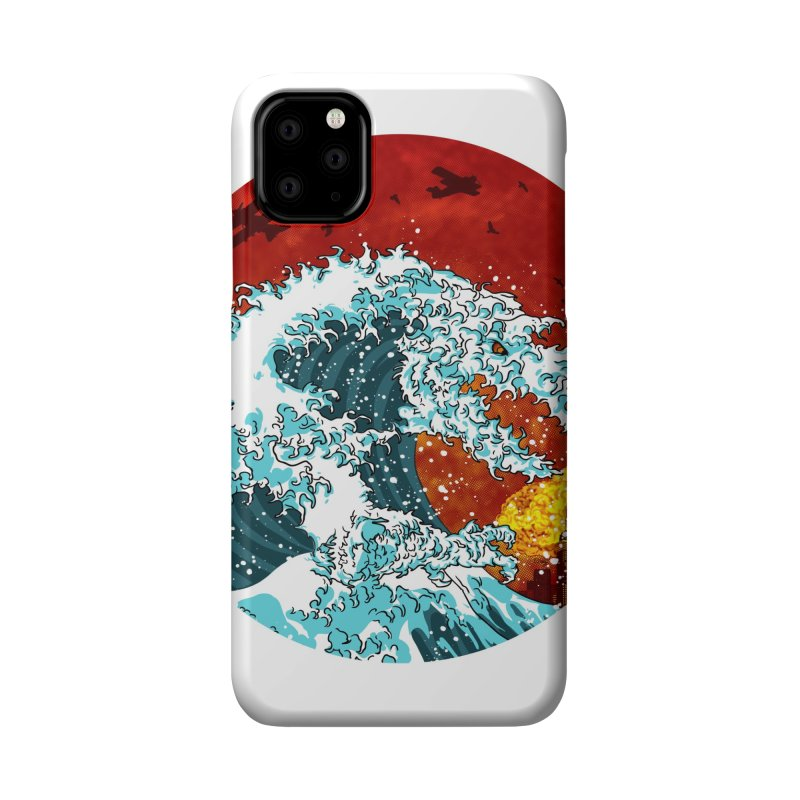 Wavezilla Accessories Phone Case by Opippi