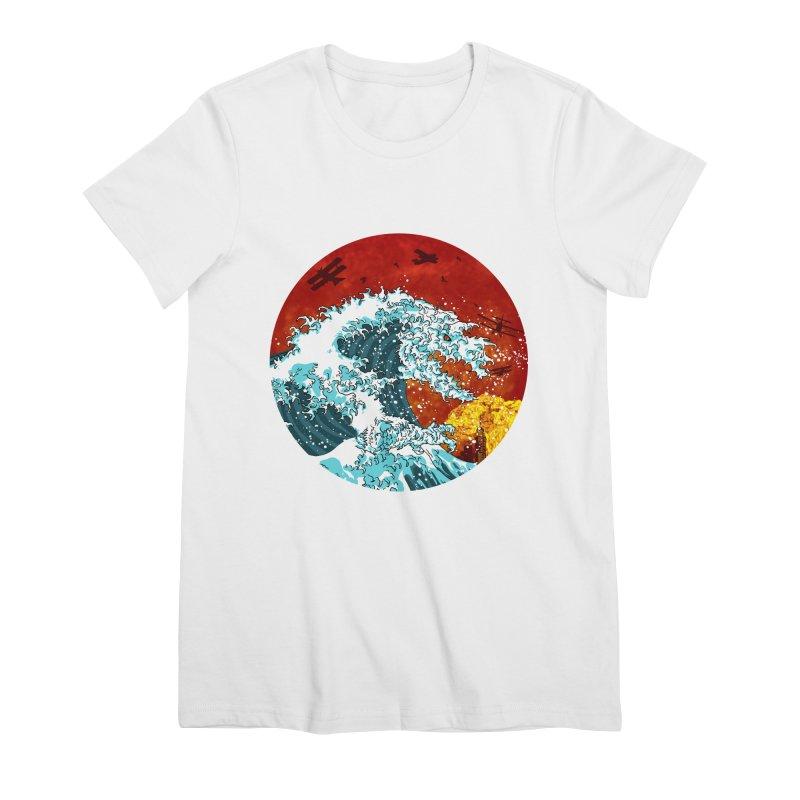 Wavezilla Women's Premium T-Shirt by Opippi