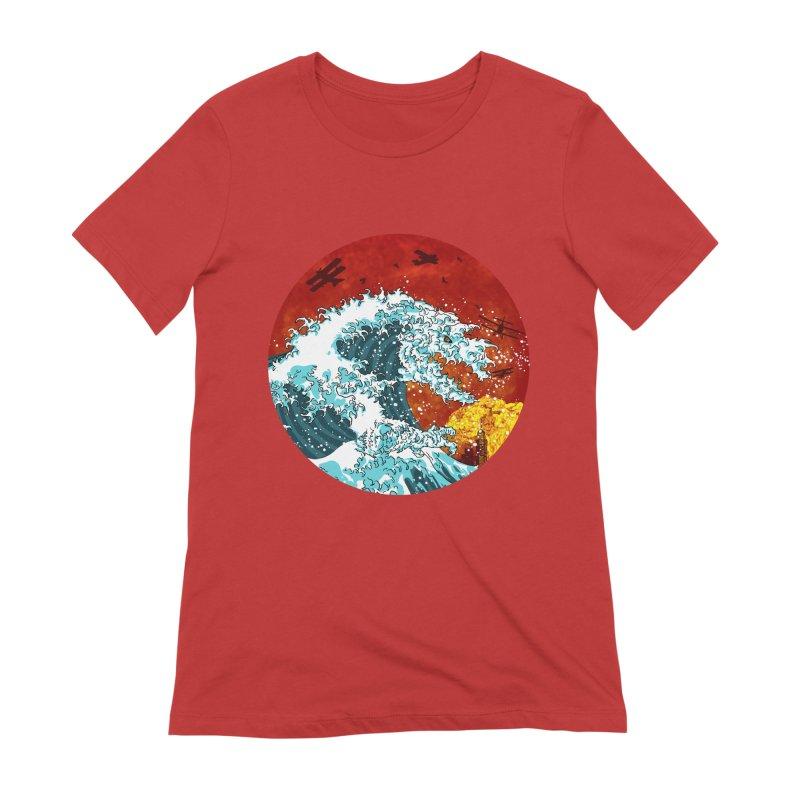 Wavezilla Women's Extra Soft T-Shirt by Opippi