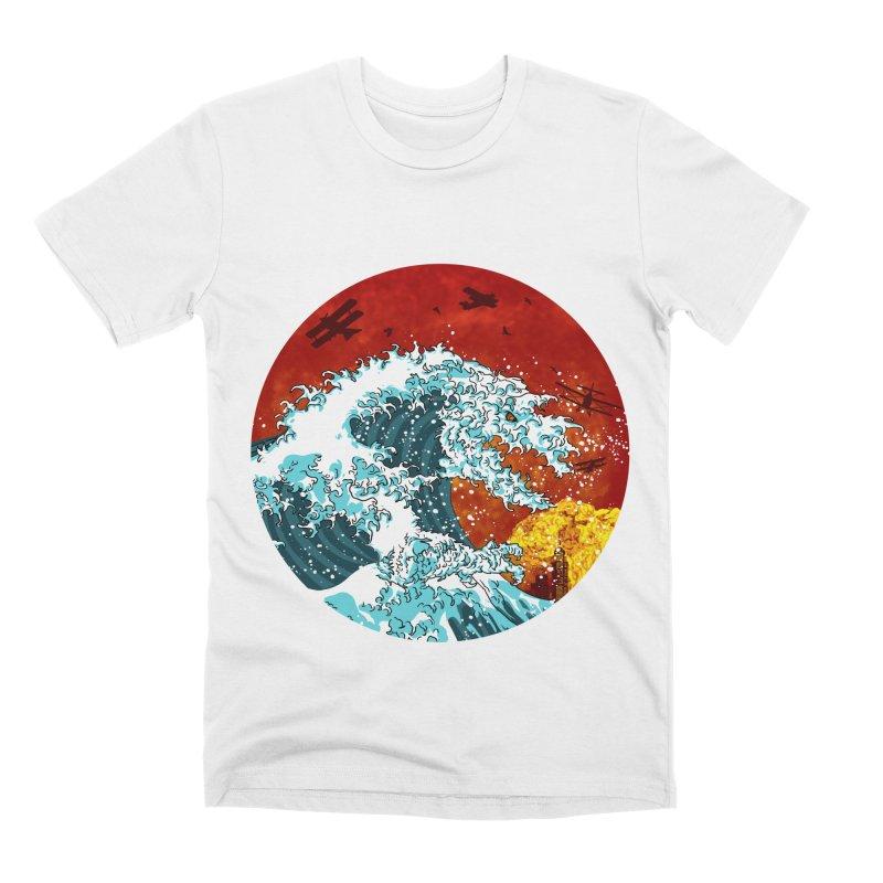 Wavezilla Men's Premium T-Shirt by Opippi
