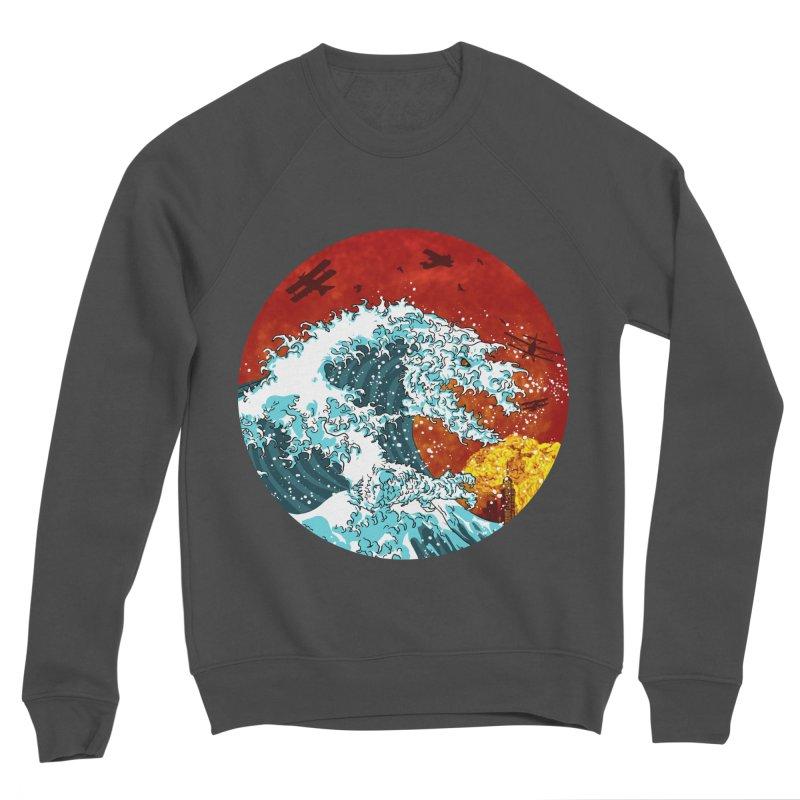 Wavezilla Men's Sponge Fleece Sweatshirt by Opippi