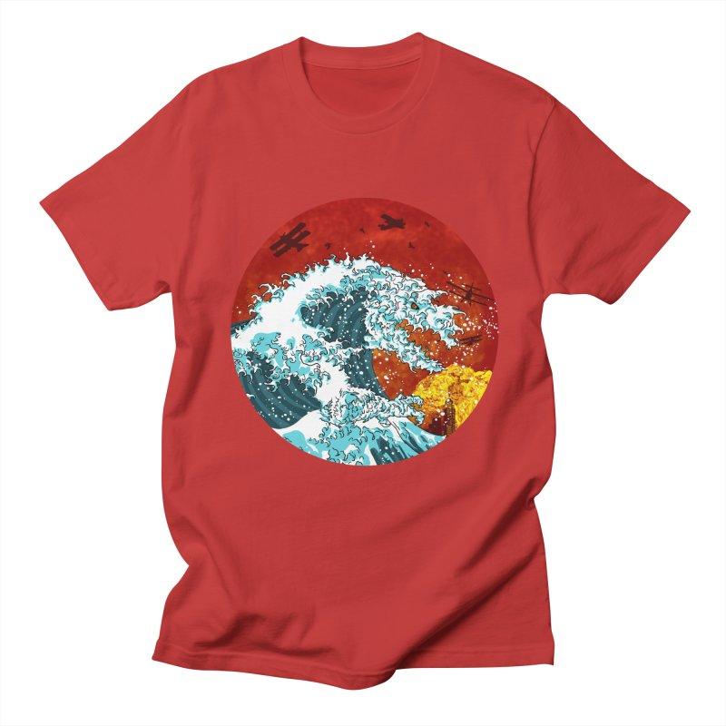 Wavezilla Men's T-Shirt by Opippi