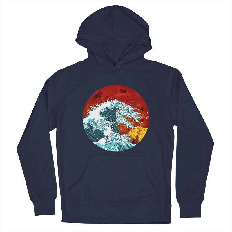 Wavezilla Men's Pullover Hoody by Opippi