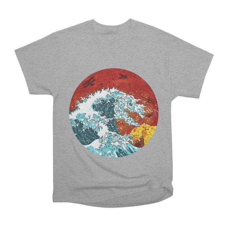 Wavezilla Women's Heavyweight Unisex T-Shirt by Opippi