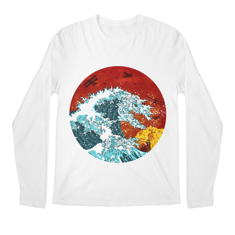 Wavezilla Men's Regular Longsleeve T-Shirt by Opippi