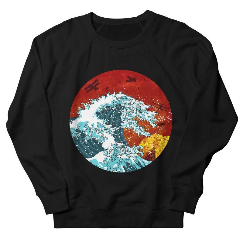 Wavezilla Men's French Terry Sweatshirt by Opippi