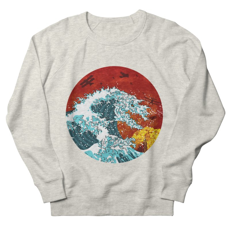 Wavezilla Men's Sweatshirt by Opippi