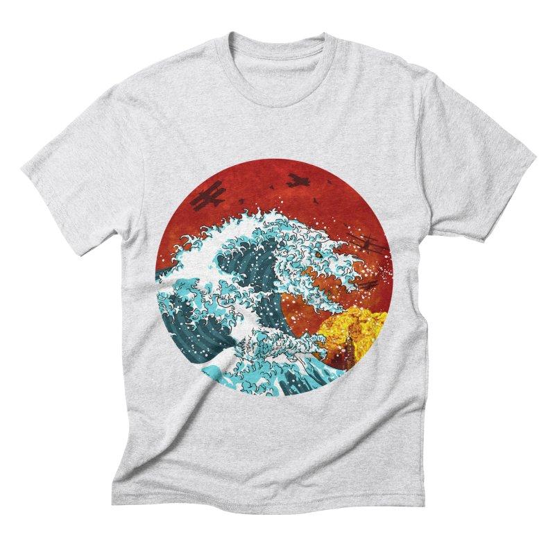 Wavezilla Men's Triblend T-Shirt by Opippi