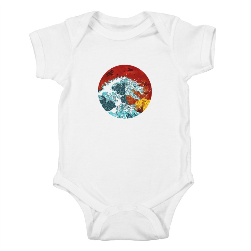 Wavezilla Kids Baby Bodysuit by Opippi