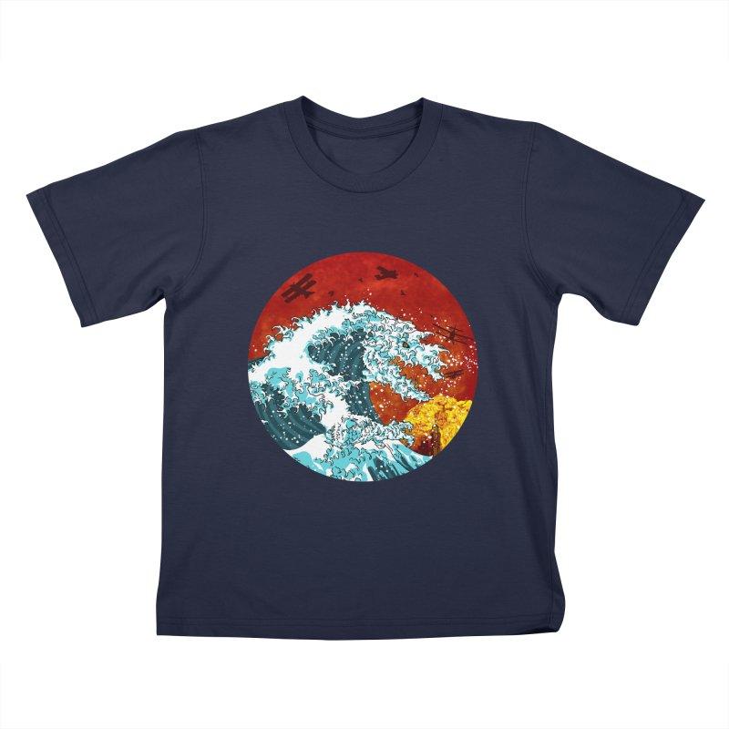 Wavezilla Kids T-Shirt by Opippi