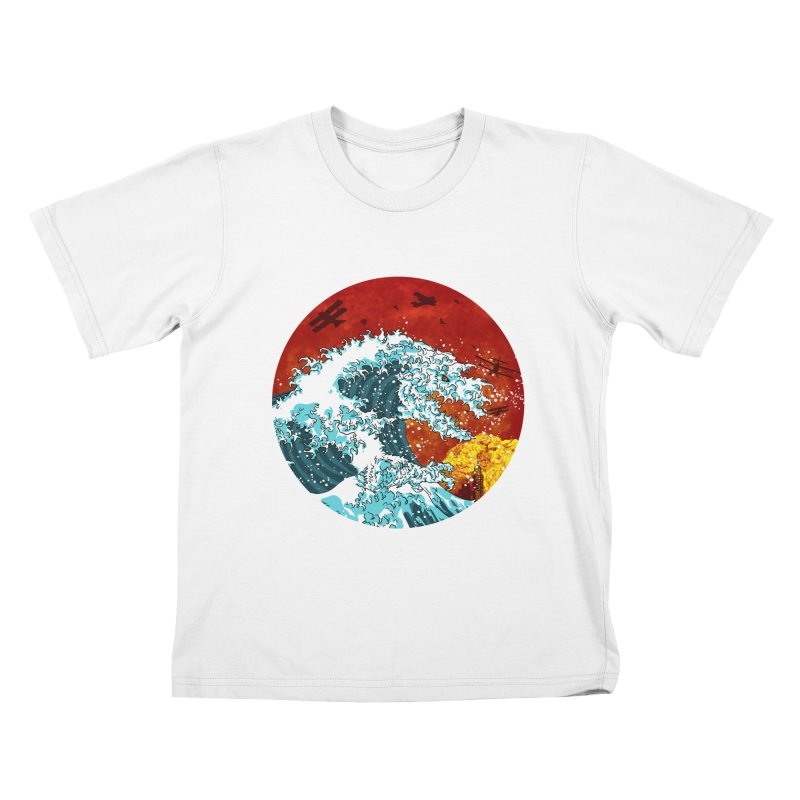 Wavezilla Kids T-Shirt by Opippi