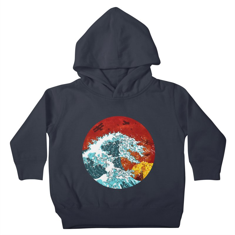 Wavezilla Kids Toddler Pullover Hoody by Opippi