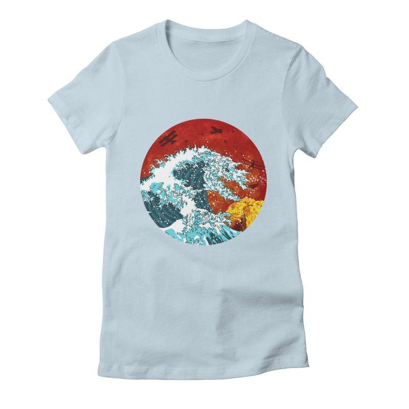 Wavezilla Women's T-Shirt by Opippi