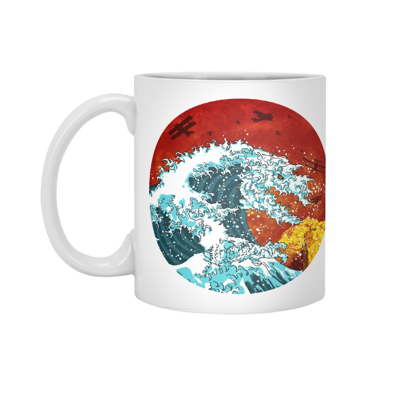 Wavezilla Accessories Mug by Opippi