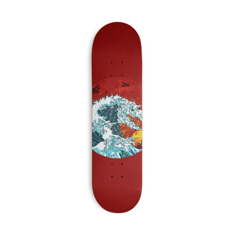 Wavezilla Accessories Deck Only Skateboard by Opippi