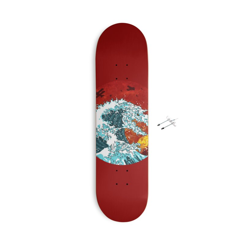 Wavezilla Accessories With Hanging Hardware Skateboard by Opippi