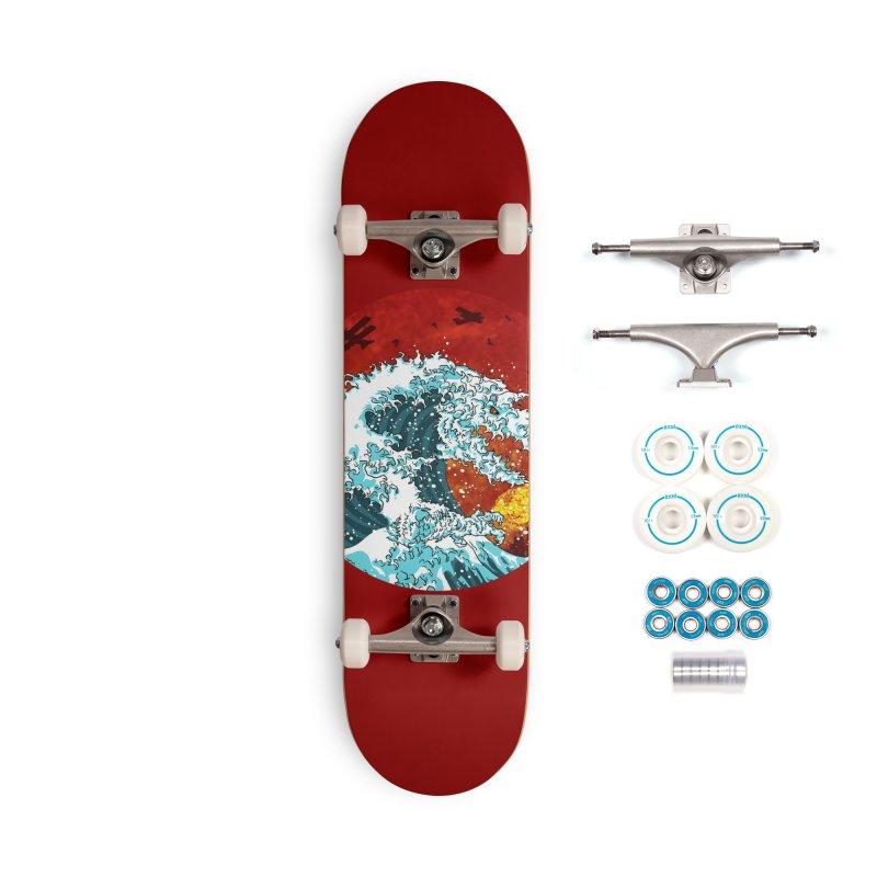 Wavezilla Accessories Complete - Basic Skateboard by Opippi