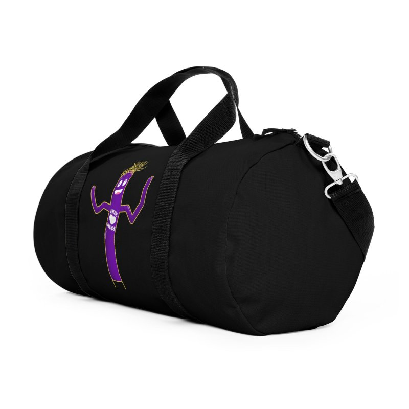Free Hugs Accessories Duffel Bag Bag by Opippi