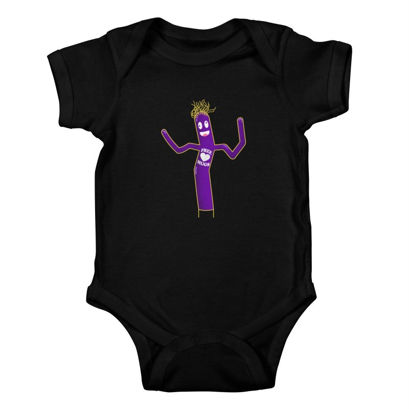 Free Hugs Kids Baby Bodysuit by Opippi
