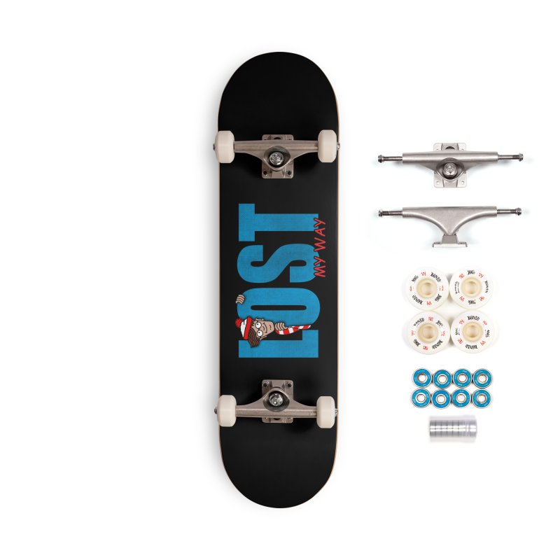 Lost My Way Accessories Complete - Premium Skateboard by Opippi