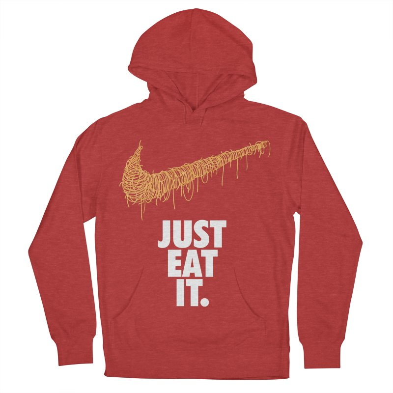 Just Eat It_Spaguetti Men's French Terry Pullover Hoody by Opippi