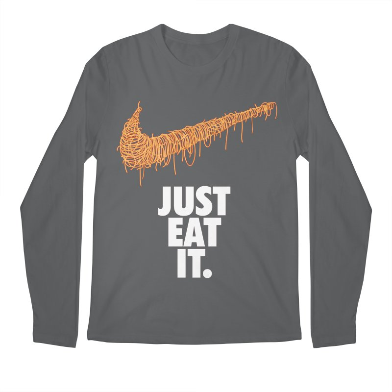 Just Eat It_Spaguetti Men's Longsleeve T-Shirt by Opippi