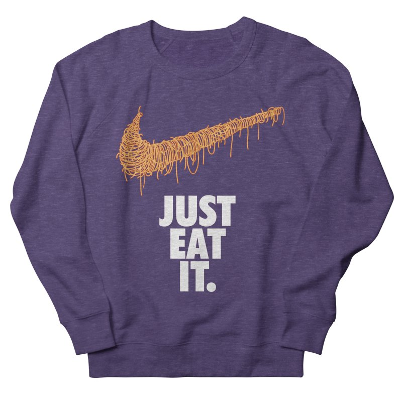Just Eat It_Spaguetti Women's French Terry Sweatshirt by Opippi
