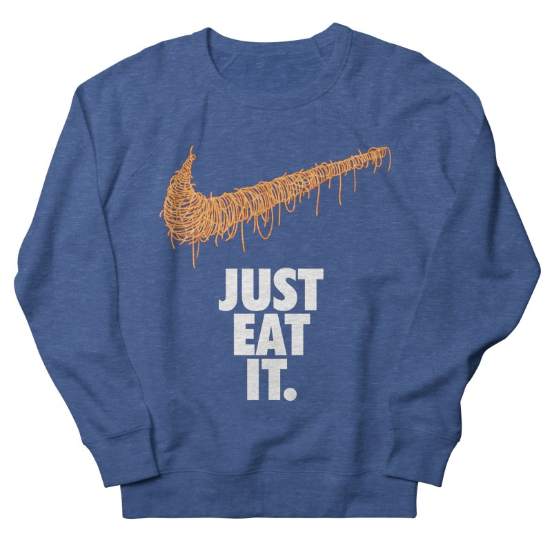 Just Eat It_Spaguetti Men's French Terry Sweatshirt by Opippi