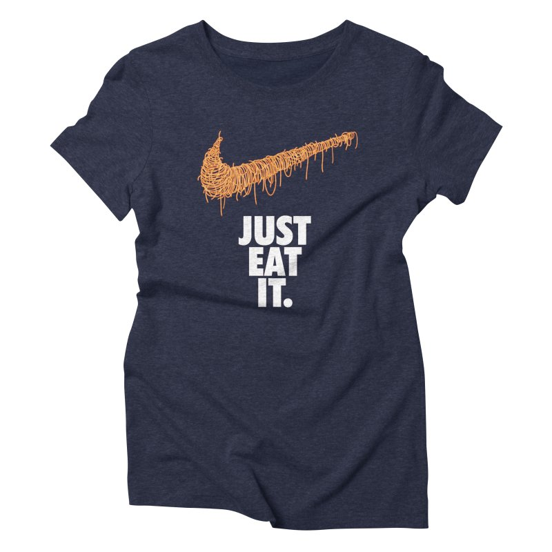 Just Eat It_Spaguetti Women's Triblend T-Shirt by Opippi