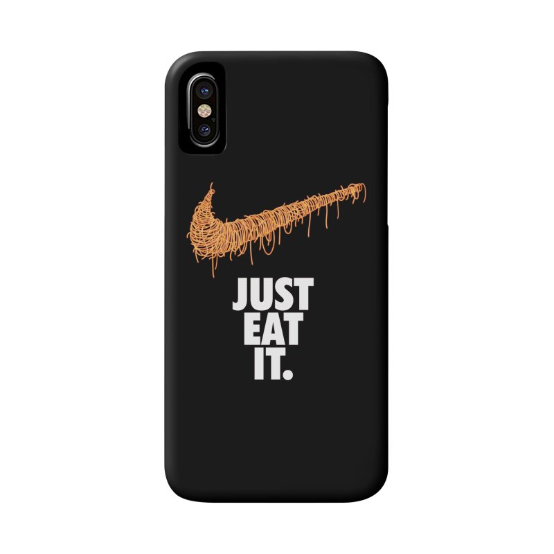 Just Eat It_Spaguetti Accessories Phone Case by Opippi