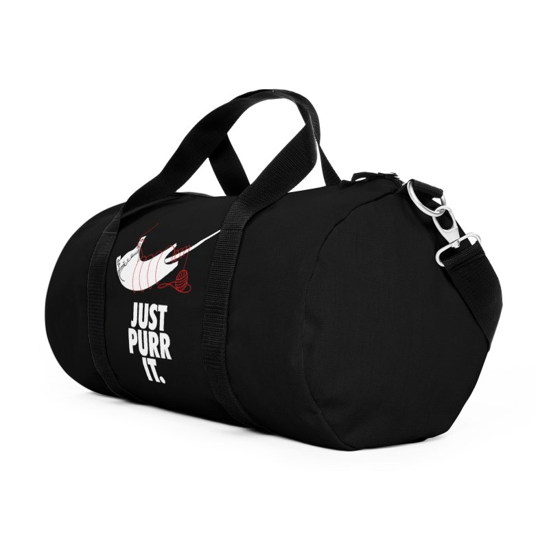Just Purr It Accessories Duffel Bag Bag by Opippi