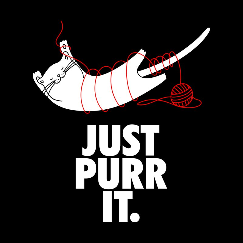 Just Purr It Kids T-Shirt by Opippi