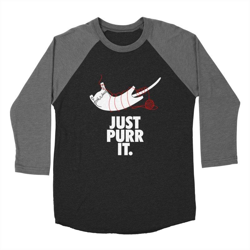 Just Purr It Men's Longsleeve T-Shirt by Opippi