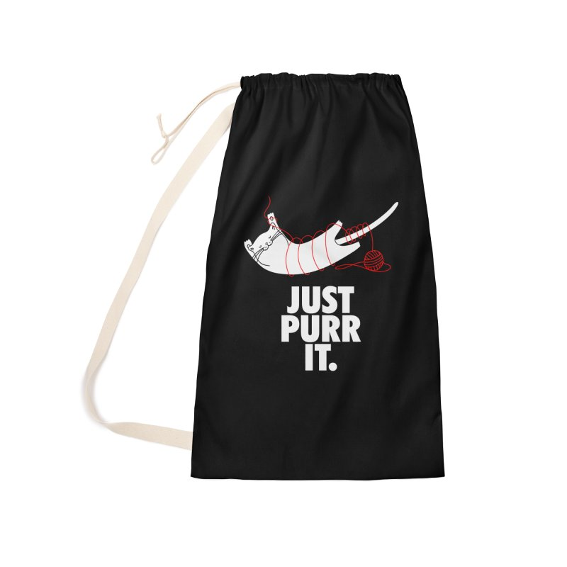Just Purr It Accessories Laundry Bag Bag by Opippi