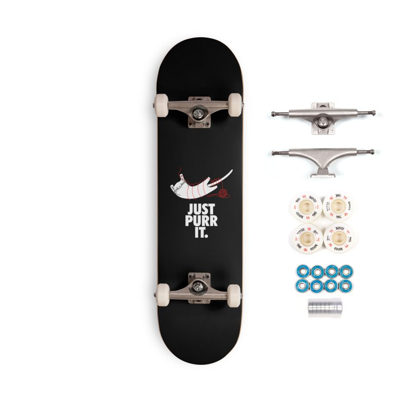 Just Purr It Accessories Complete - Premium Skateboard by Opippi