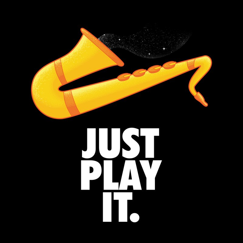 Just Play It Kids T-Shirt by Opippi