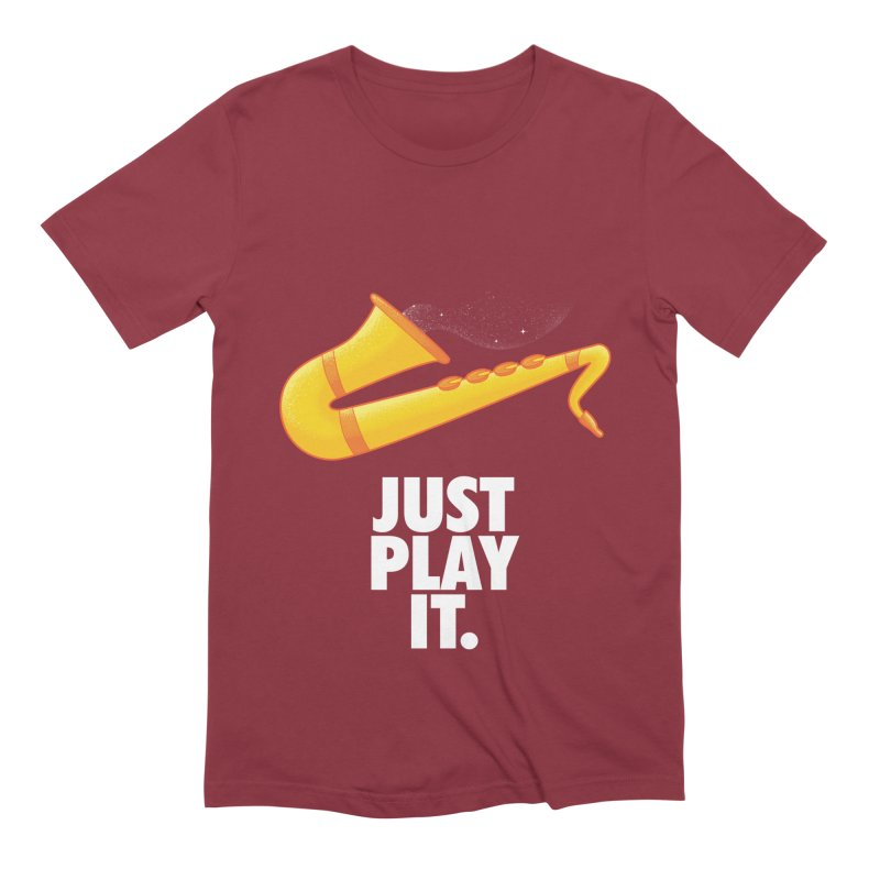 Just Play It Men's Extra Soft T-Shirt by Opippi
