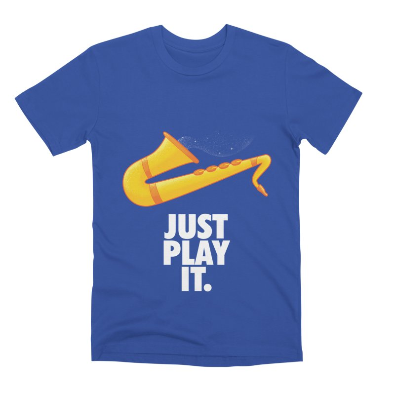 Just Play It Men's Premium T-Shirt by Opippi