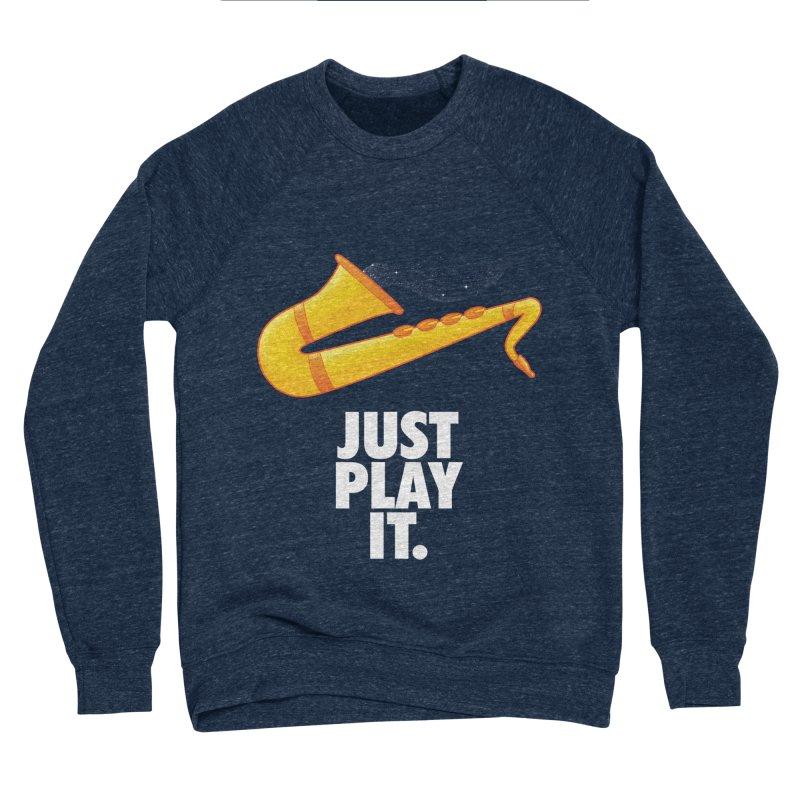 Just Play It Women's Sponge Fleece Sweatshirt by Opippi